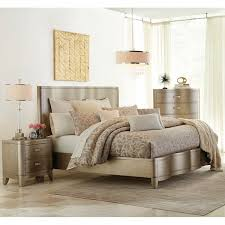 serendipity bedroom bed dresser mirror king chagne