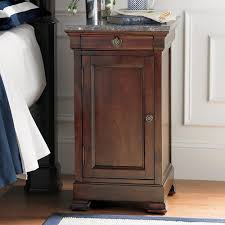 bedroom unique tall wooden nightstands with granite and drawer