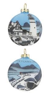 portland maine personalized ornament