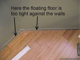 is vinyl flooring or bad bad laminate installation repair