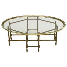 Tray Coffee Table A Clear Choice U2026vintage Baker Brass And Glass Coffee Table