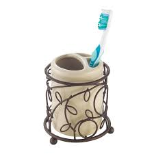Bathroom Accessories Bronze by Amazon Com Interdesign Twigz Bath Accessory Set Soap Dispenser