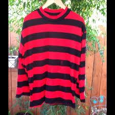 freddy krueger costume 71 krueger other men s freddy krueger costume top shirt