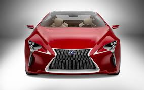toyota lexus lf lc lexus lf lc concept 2012 detroit auto show motor trend