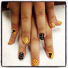 pittsburgh penguins nail art for nights at ppg paints arena