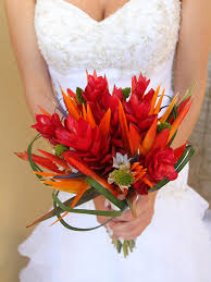 wedding bouquets top 5 tropical wedding bouquets mon cheri bridals
