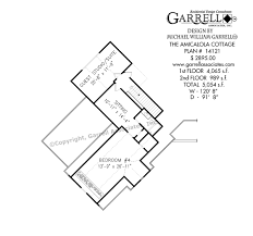 Craftsman House Plans Amicalola Cottage House Plans By Garrell Associates Inc