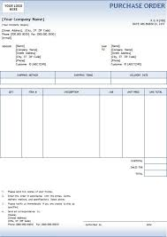 Free Excel Purchase Order Template Doc Free Printable Purchase Order Template