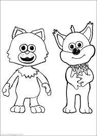 finley fox pup mittens kitten timmy coloring