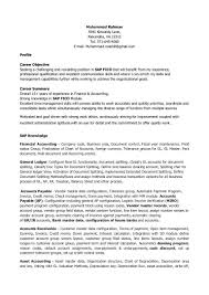 View Resumes For Free 100 Sap Mm Resume Sample Doc Resume Objectives 46 Free