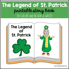 st patrick printable booklet