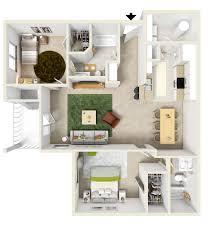 floor plans summerlyn apartments in fayetteville nc a split floor plan with 1 060 square feet of living space this apartment home features two large bedrooms with en suite bathrooms walk in closets