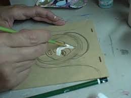 painting artwork on wood folk drawings and paintings by