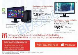black friday sale on monitors dell black friday 2013 ad find the best dell black friday deals