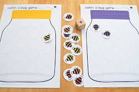 catch bug free printable game picklebums