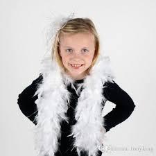 large feather boa 2m 40g girls princess tea party dress up costume