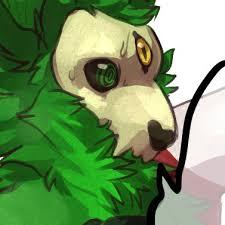 green mutant mutt madamekatacomb twitter