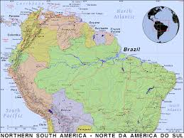 South America Map Countries Northern South America Public Domain Maps By Pat The Free Open