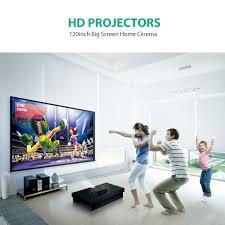 abdtech 1200 lumens mini led multimedia home theater amazon co uk