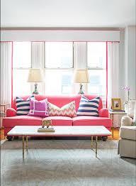 Pink Sofa Com 12 Times A Pink Sofa Made The Room U2013 Design Sponge