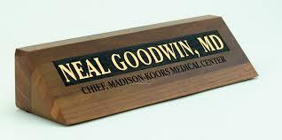 Personalized Desk Name Plates Custom Wooden Desk Name Plates Decorative Desk Decoration