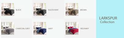 Home Classics Reversible Down Alternative Comforter Amazon Com Comfort Classics Larksppur Reversible Down Alternative