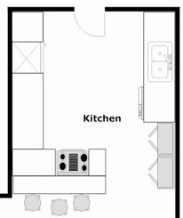Kitchen Floor Plan Symbols Appliances How To Draw Kitchen Floor Plan With Corel Draw Homy Home