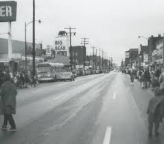 1966 thanksgiving parade on high columbus in