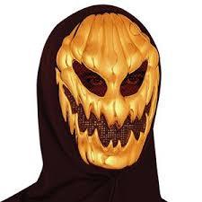 pumpkin mask evil gold pumpkin mask 368243 trendyhalloween