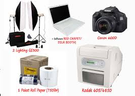 photobooth printer paket photobooth complete unlimited rentalalat