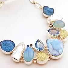 gemstone silver necklace images Blog jpg