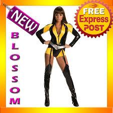 c388 watchmen silk spectre ladies superhero fancy dress halloween