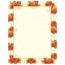 fall leaves vine autumn and thanksgiving printer paper your