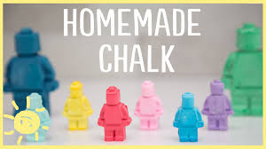 diy how to make lego sidewalk chalk only 3 ingredients youtube