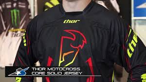 thor motocross jersey thor motocross core solid jersey from motorcycle superstore com