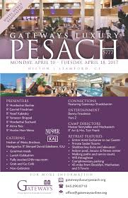 passover program retreats gateways org