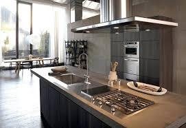 cuisine avec piano de cuisson design d intérieur hotte pour cuisine ouverte de angle beautiful