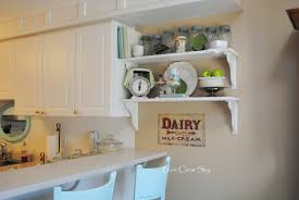 kitchen diy open kitchen shelving with old wooden materials