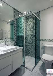 tiny bathroom ideas walk in shower with bench and small niche