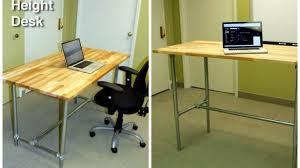 Diy Adjustable Standing Desk Best 25 Adjustable Desk Ideas On Pinterest Adjustable Height