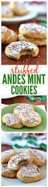 andes mint cookies fluffy sugar cookies stuffed with andes mints