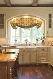 ideas for kitchen window treatments kitchen enchanting kitchen window treatments kitchen window