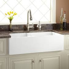 kitchen sinks with backsplash modern kitchen risinger farmhouse sink smooth apron white lovely