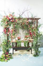 How To Make A Chuppah 100 Layer Cake Tropical Wedding Lush Layering And Cake