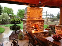 Fireplace Designs Simple Outdoor Fireplace Designs Ideas Stone For Outdoor