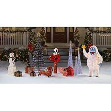 Frosty The Snowman Outdoor Decoration Pre Lit Abominable Snowman Cute Lawn Decoration From Kmart