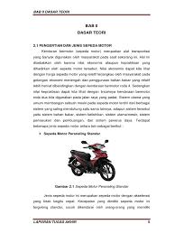klasifikasi dan analisis sepeda motor