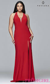 plus sized discount prom dresses and gowns promgirl