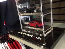 porsche model car porsche 10 car tower 1 43 model car display