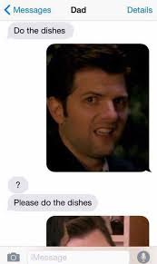 Dishes Meme - do the dishes 244424 6368473 jpg